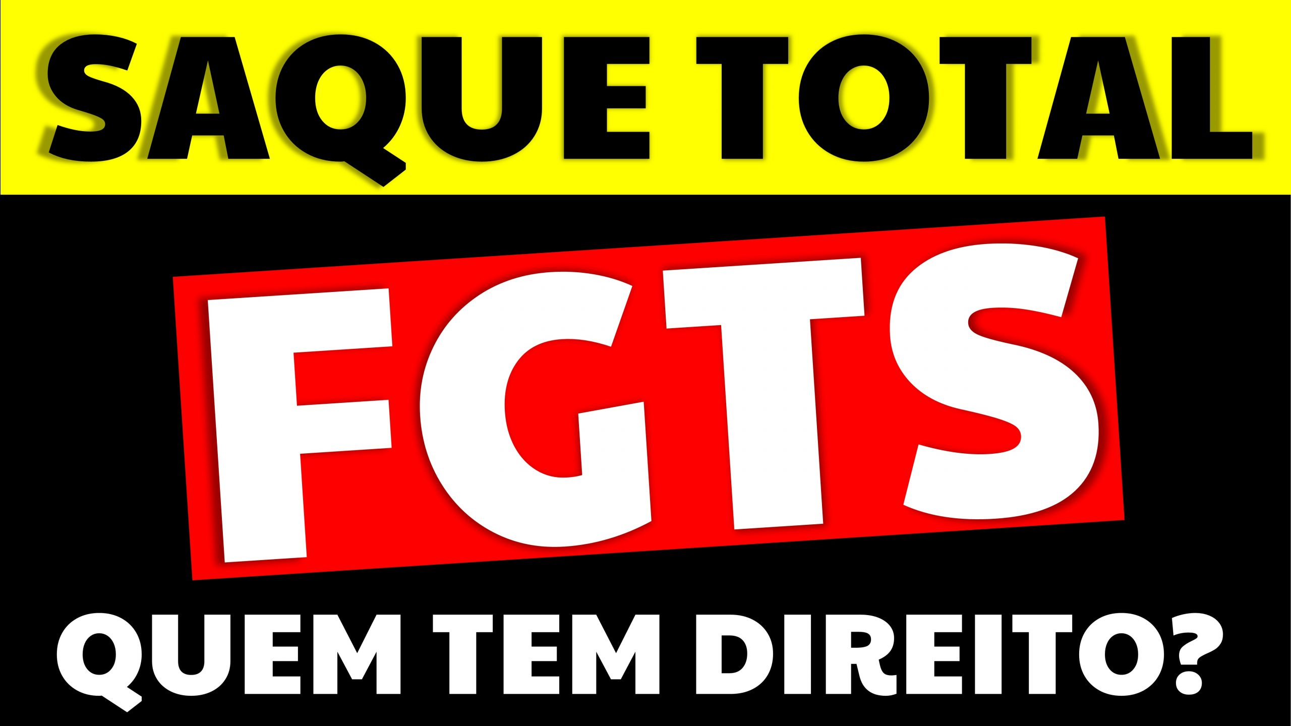 Saque total do FGTS: quem tem direito e em quais situações?