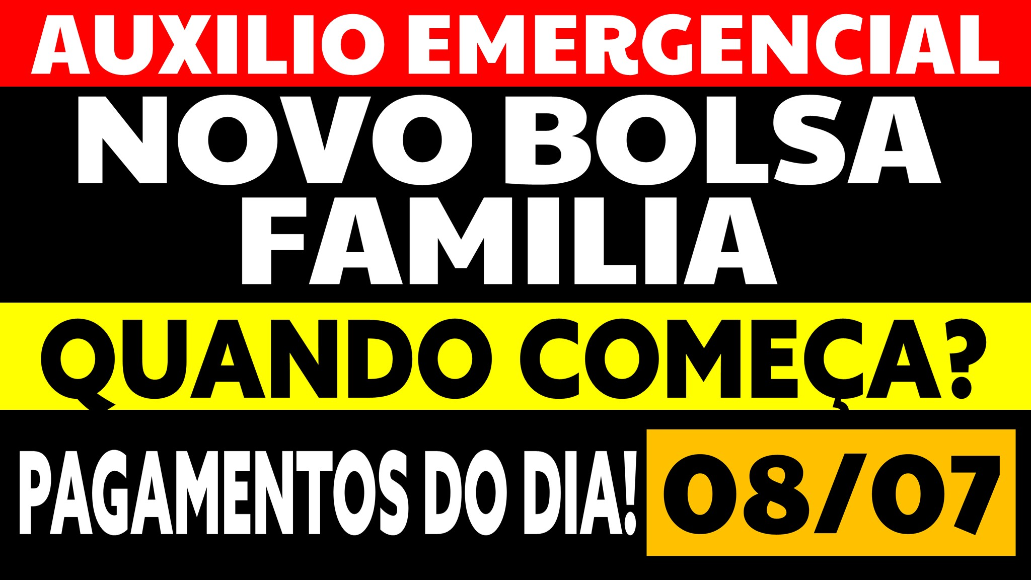 Read more about the article Auxílio Emergencial Hoje – 08/07