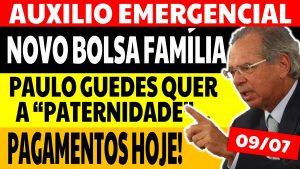 Read more about the article Auxílio Emergencial Hoje – 09/07