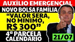 Read more about the article Auxílio Emergencial Hoje – 21/07