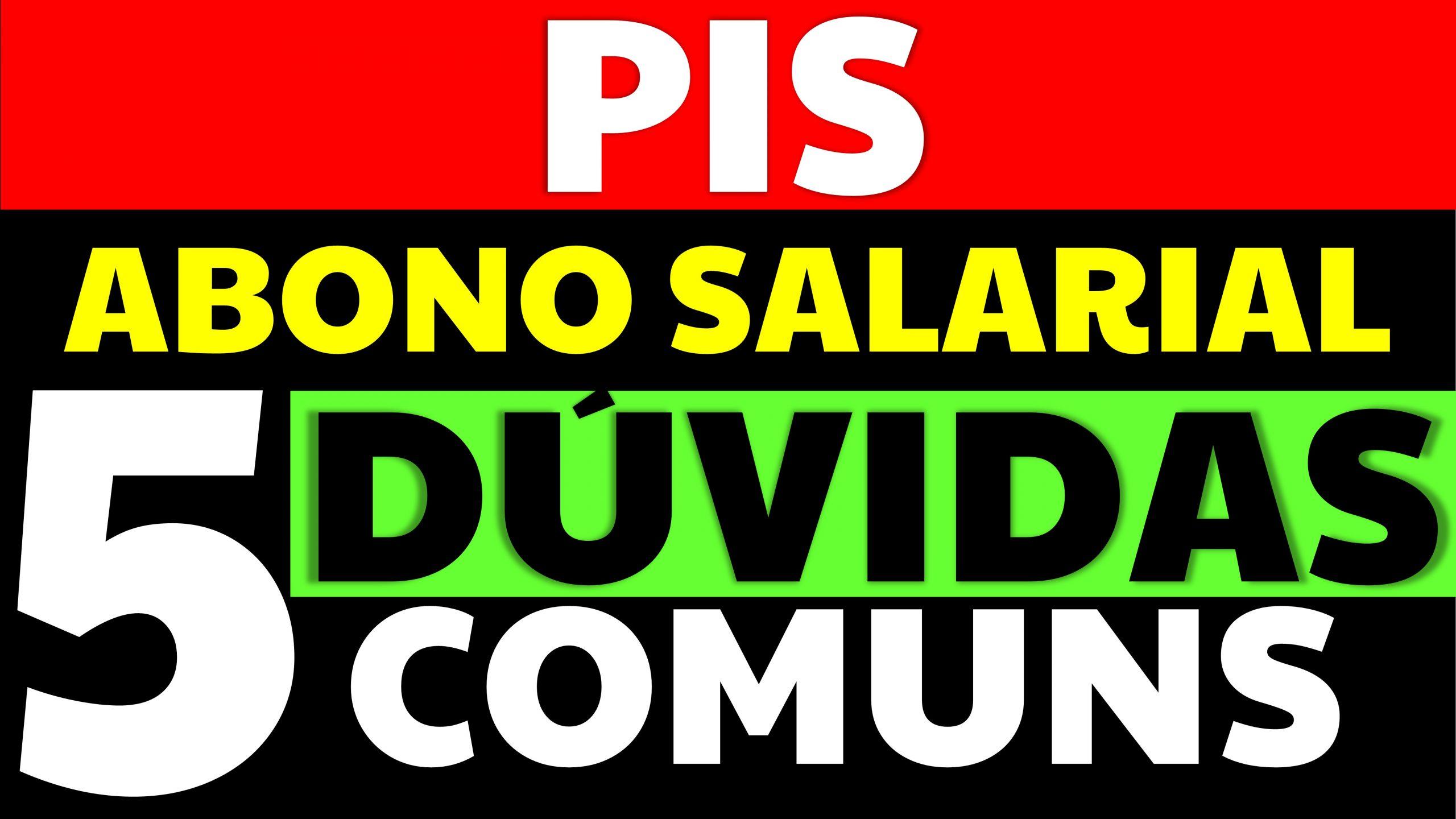 Read more about the article Tire 5 dúvidas sobre o PIS ou abono salarial