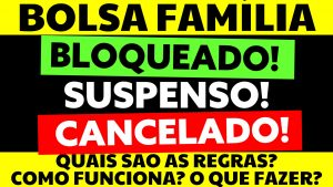 Read more about the article Bolsa família bloqueado, suspenso ou cancelado: Entenda os motivos e como regularizar a situação