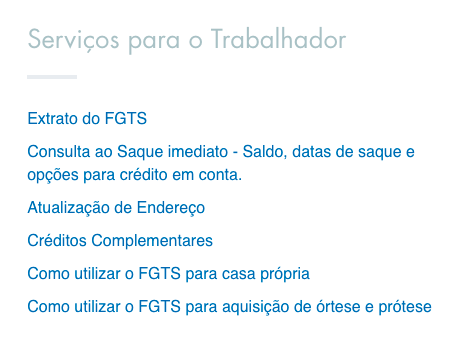 extrato analítico do FGTS