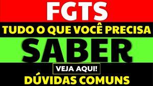 Read more about the article 5 dúvidas comuns sobre o FGTS