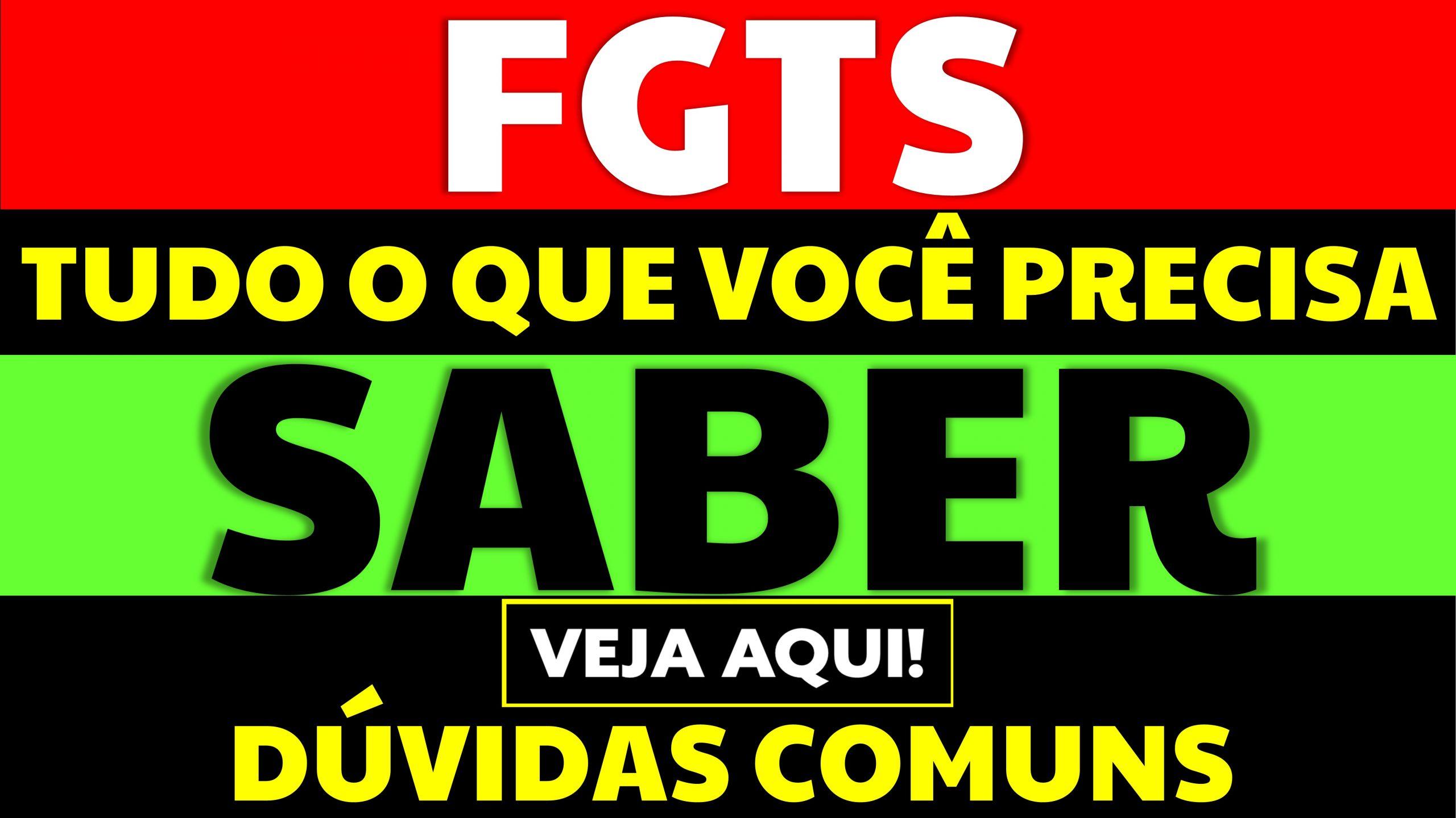 You are currently viewing 5 dúvidas comuns sobre o FGTS