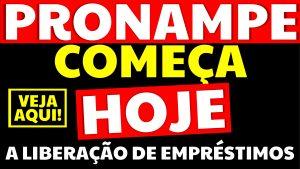 Read more about the article Pronampe começa hoje a liberar empréstimos