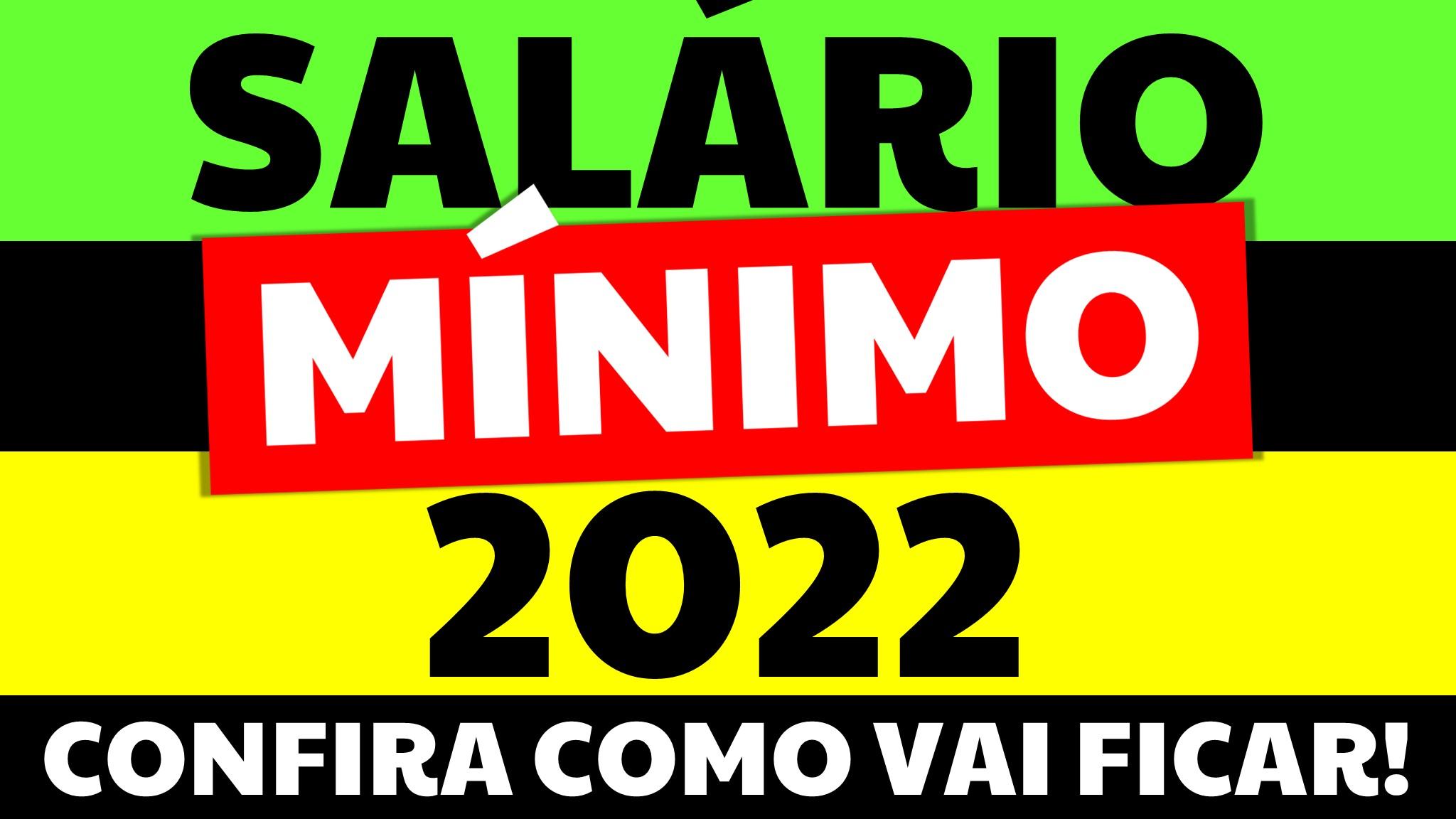 You are currently viewing Salário Mínimo 2022 Aprovado! Qual será o valor do salário mínimo 2020?