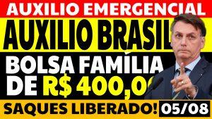 Read more about the article Auxílio Emergencial Hoje – 05/08