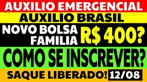Read more about the article Auxílio Emergencial Hoje – 12/08