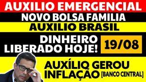 Read more about the article Auxílio Emergencial Hoje – 19/08