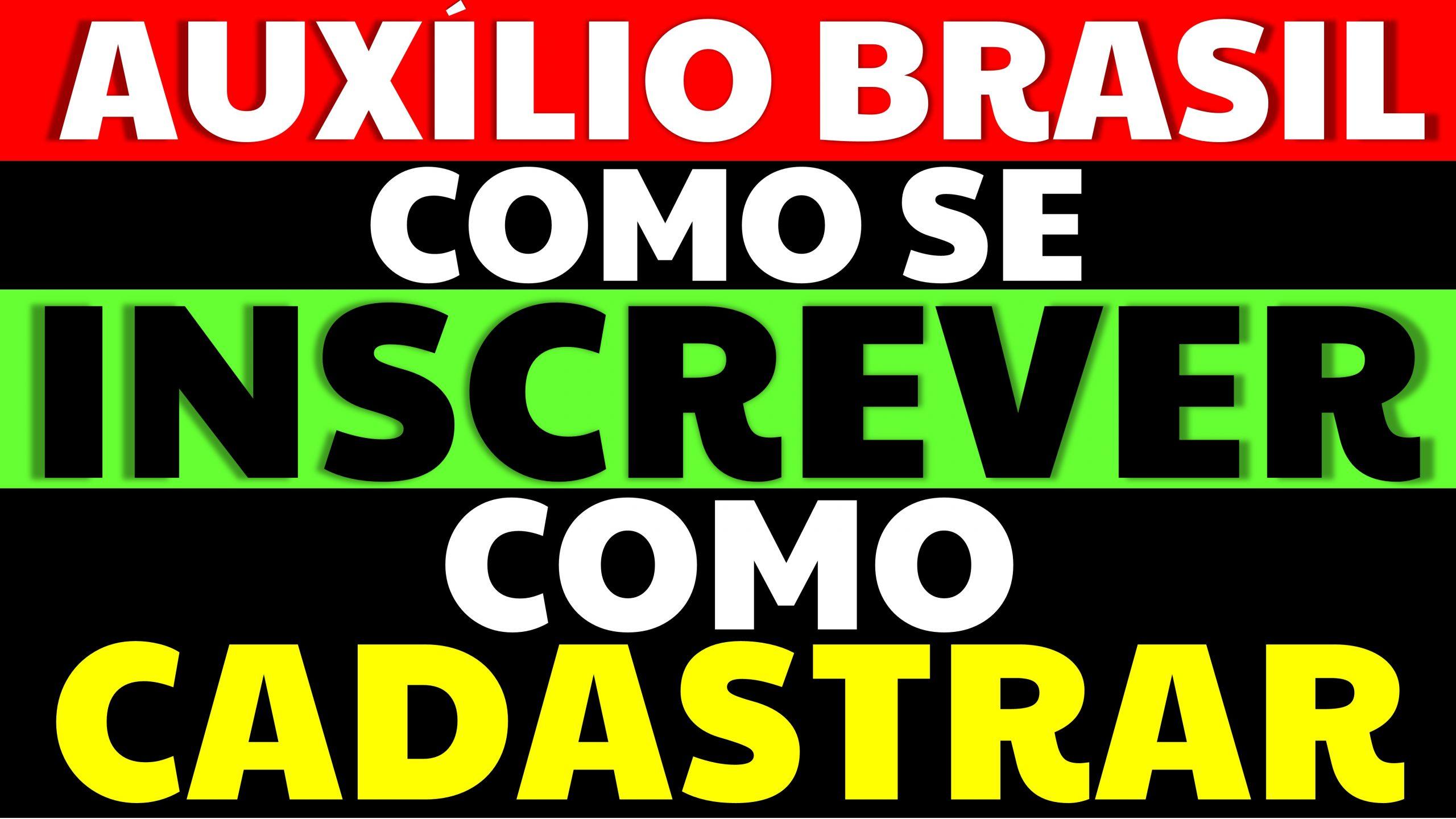 Read more about the article Como se inscrever no Auxílio Brasil 2021?