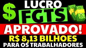 Read more about the article Conselho Curador do FGTS aprovou distribuição de R$ 8,13 bilhões de lucro do FGTS para os trabalhadores